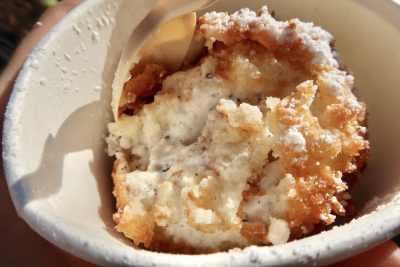 Sam's Fried Ice Cream - Cookies 'N Cream