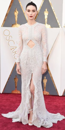Rooney Mara, Givenchy Haute Couture by Riccardo Tischi