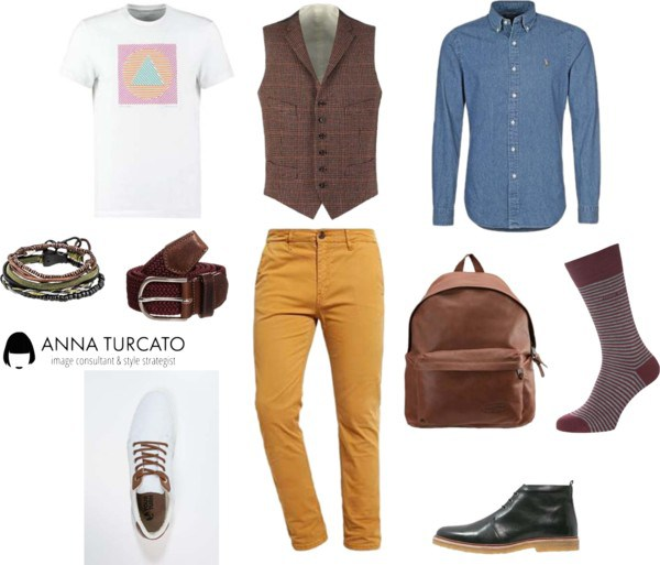 Fashion for men di annaturcato su Polyvore