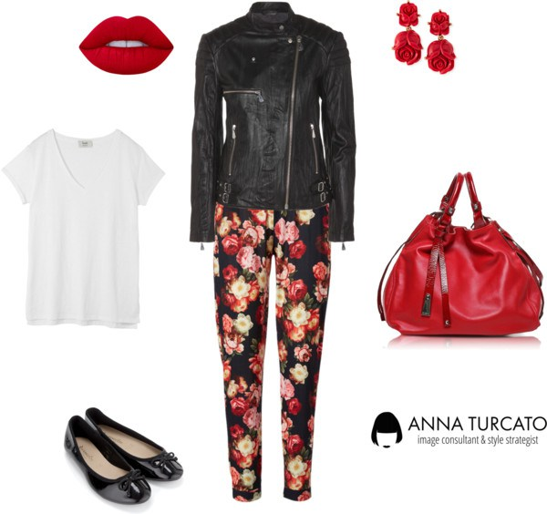 The floral pants di annaturcato contenente summer totes