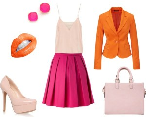 How to orange and fuchsia di annaturcato contenente kate spade earrings