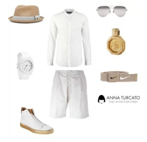 White look for men di annaturcato contenente Stefano Ricci