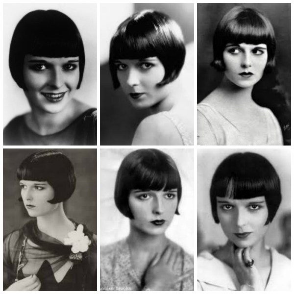 Louise Brooks capelli