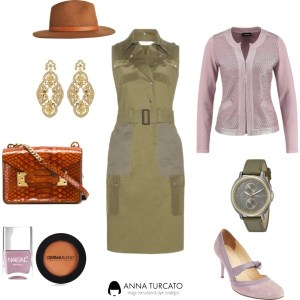 Come abbinare Cashmere Rose, Cadmium Orange e Desert Sage di annaturcato contenente suede shoes