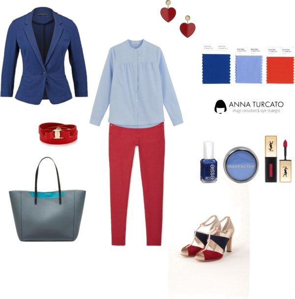 Office look di annaturcato contenente Salvatore Ferragamo