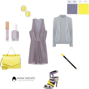 Spring/Summer Girl by annaturcato featuring a purple cocktail dress