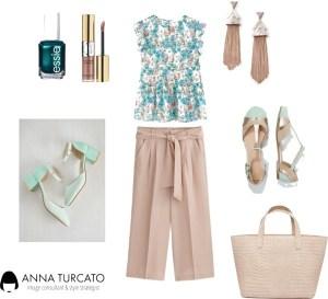 Autumn girl in summer by annaturcato featuring an essie nail polish