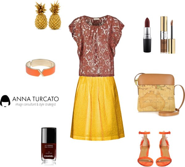Autumn lady in Summer di annaturcato contenente special occasion shoes
