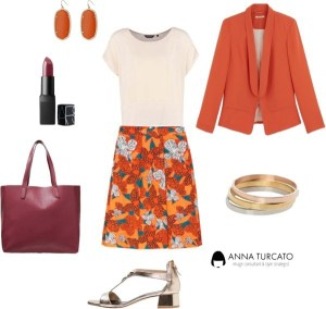 Orange Lady di annaturcato contenente 14k jewelry