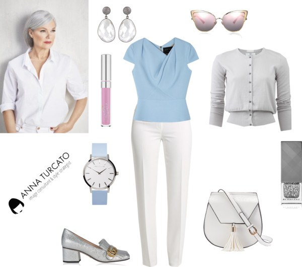 Summer lady in winter by annaturcato featuring a blue wrist watch