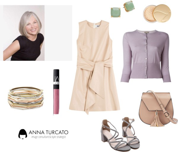 Spring Grey by annaturcato featuring a bangle bracelet