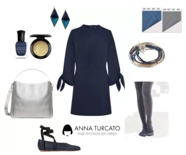 Riverside and SharkSkin by annaturcato featuring a a line dress