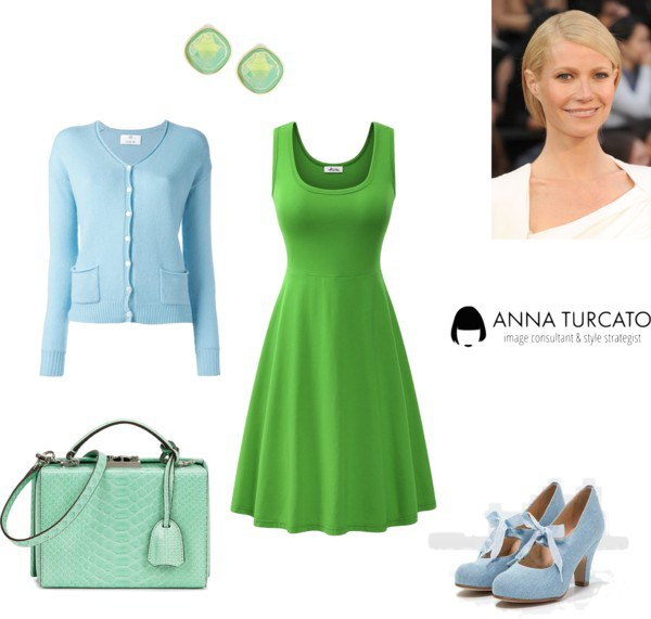 Greenery for Summer Girl by annaturcato featuring a midi dress