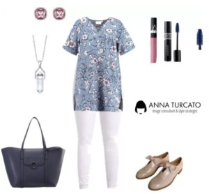 Caftano Style by annaturcato featuring a blue top