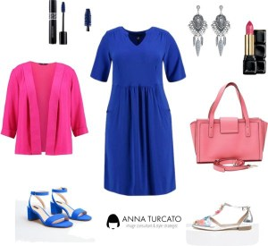 Curvy look di annaturcato contenente statement earrings