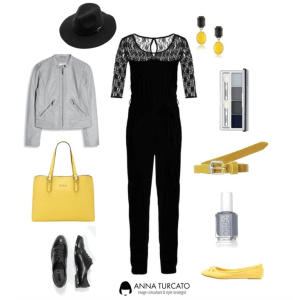 Jumpsuit Lady by annaturcato featuring a fedora hat
