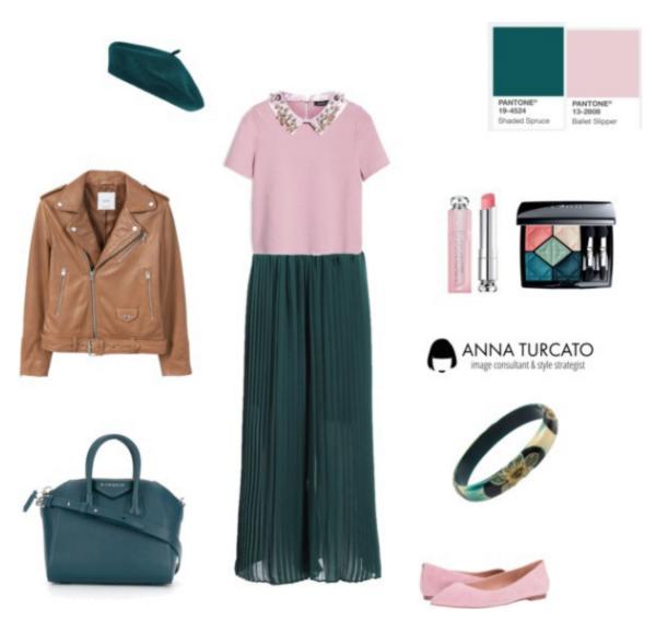 Anna Turcato Ballet Slipper + Shaded Spruce