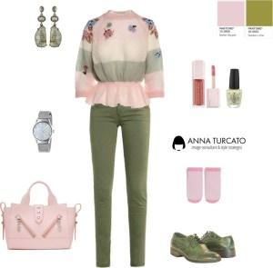 Anna Turcato ballet slippers golden lime