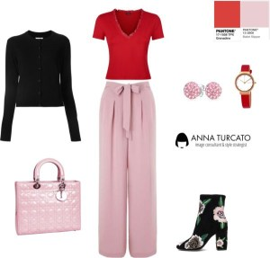 Anna Turcato Grenadine + Ballet Slipper di annaturcato contenente pink pants
