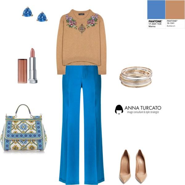 Marina + Butterum by annaturcato featuring a silk trousers