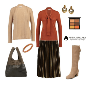 Plisse lady for a winter lady by annaturcato featuring a turtle neck top