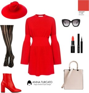 Anna Turcato Red Grenadine