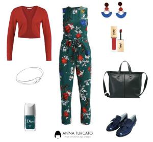 The floral jumpsuit di annaturcato contenente Christian Dior
