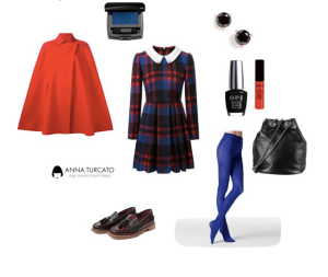 The red cape by annaturcato featuring a man bag