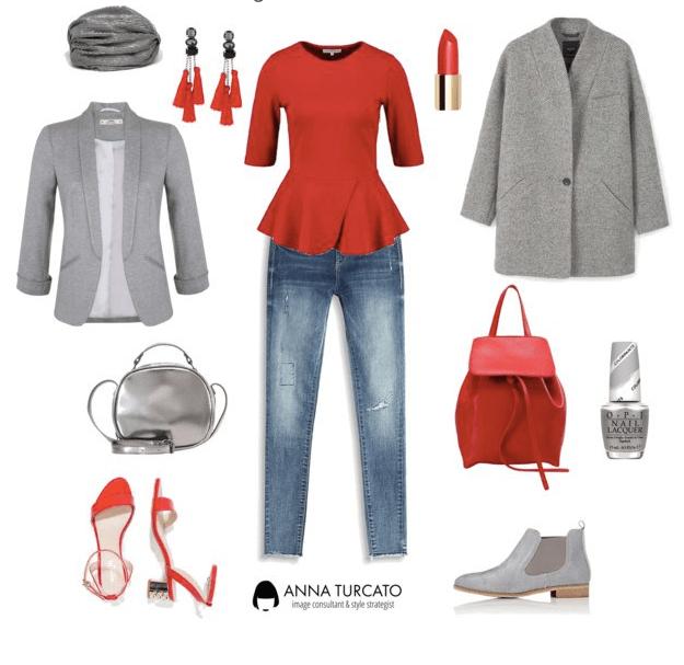 Regalati l'energia del rosso (come indossare e abbinare
