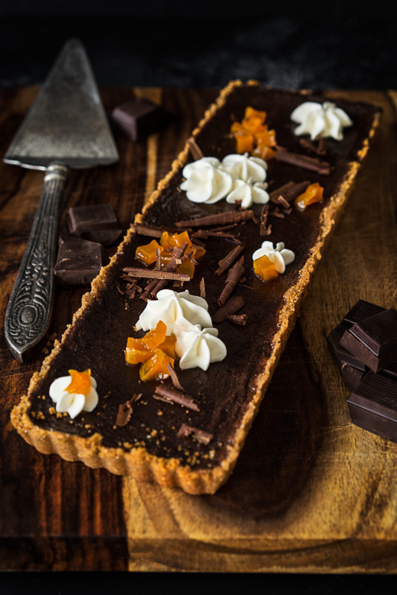 Easy Chocolate Tart Recipe