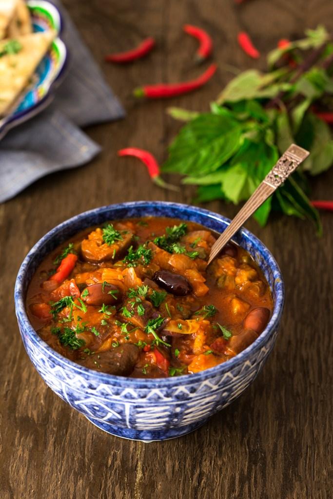Spicy Eggplant Stew recipe