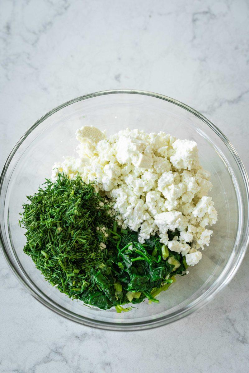 Spinach and Feta Borek
