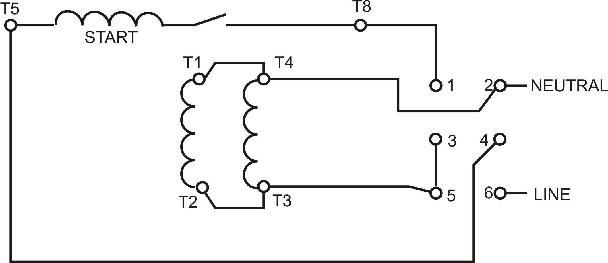 110v 220v Motor Wiring Diagram