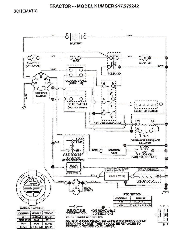 Briggs And Stratton Alternator Wiring Diagram