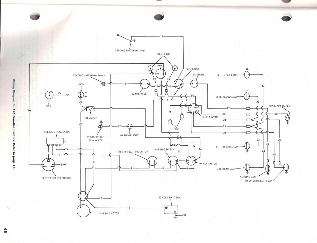 Ford 8n Tractor Wiring Diagram Wiring Diagram