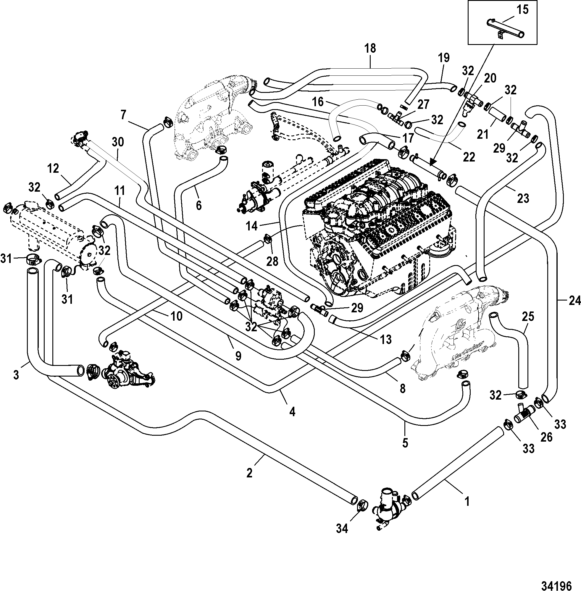 [DIAGRAM] 1974 Mercruiser Wiring Diagram FULL Version HD