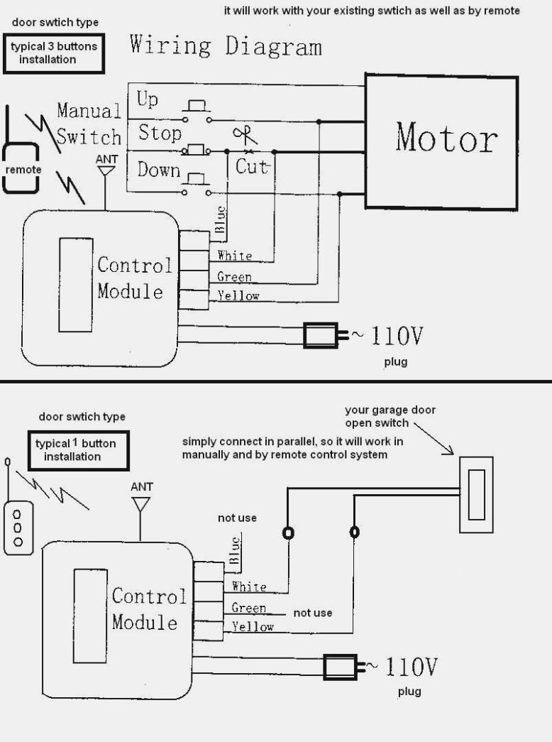 Chamberlain Garage Door Opener Electrical Schematic