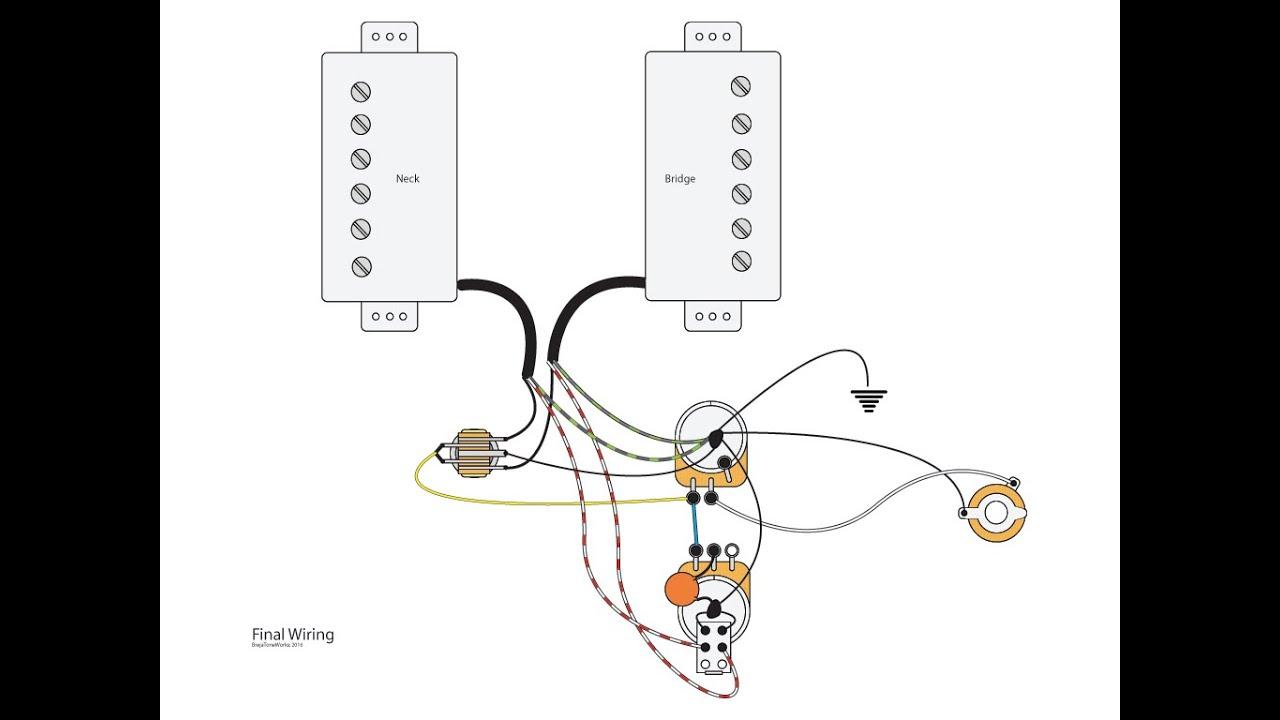 Push Pull Switch Guitar Pickups Hss Split Coil Wiring