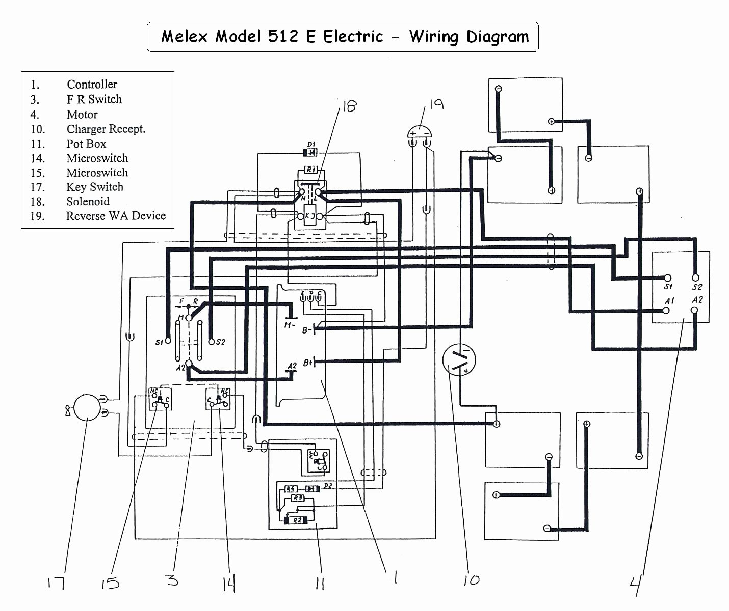Club Car Battery Wiring Diagram 48 Volt