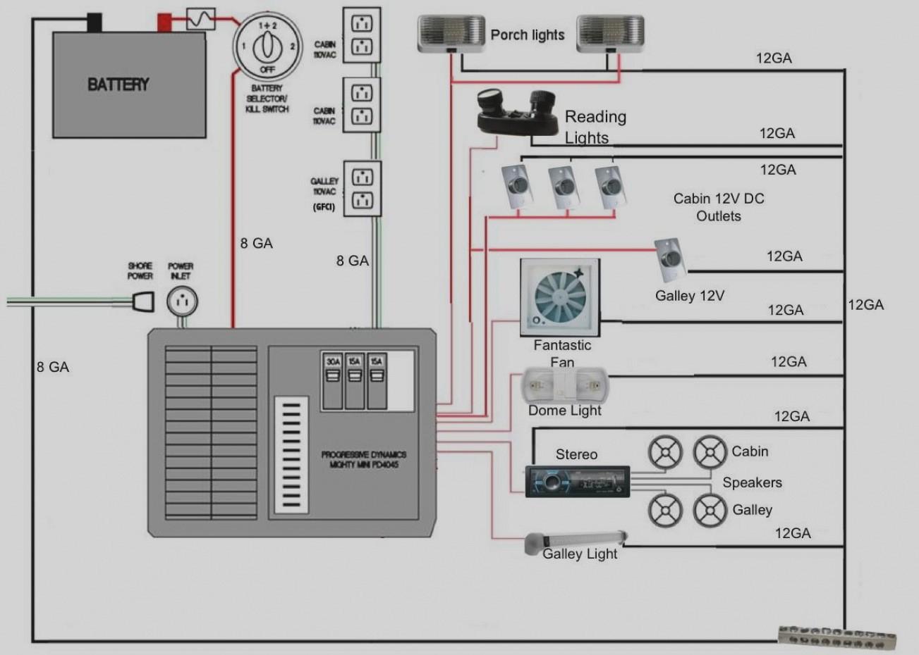 Rv Fantastic Fan Wiring Diagram