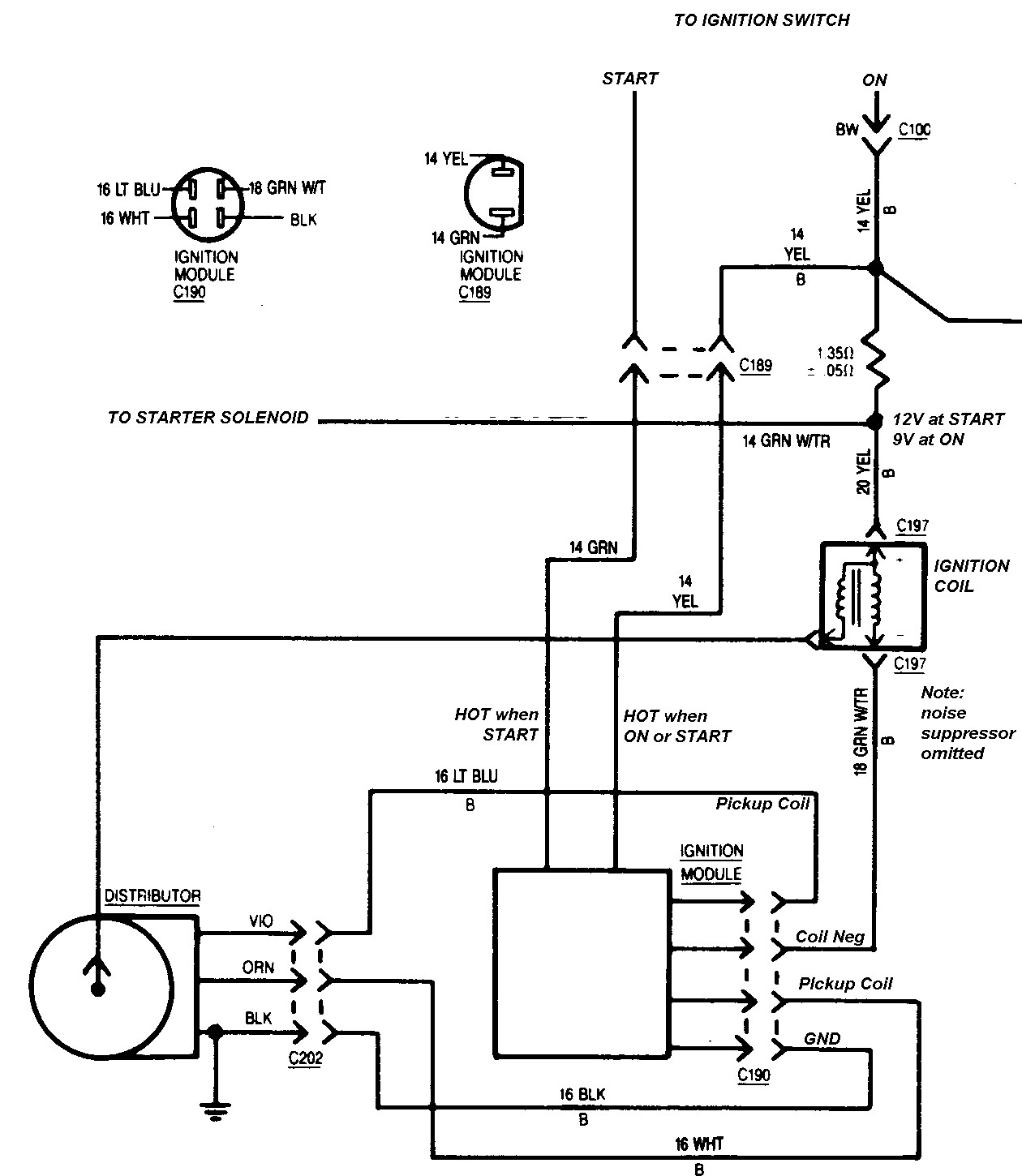 Ford Ignition Control Module Wiring Diagram