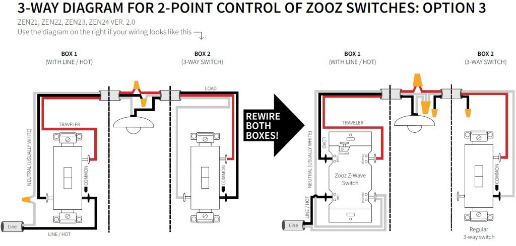 How To Wire Your Zooz Switch In A 3-Way Configuration