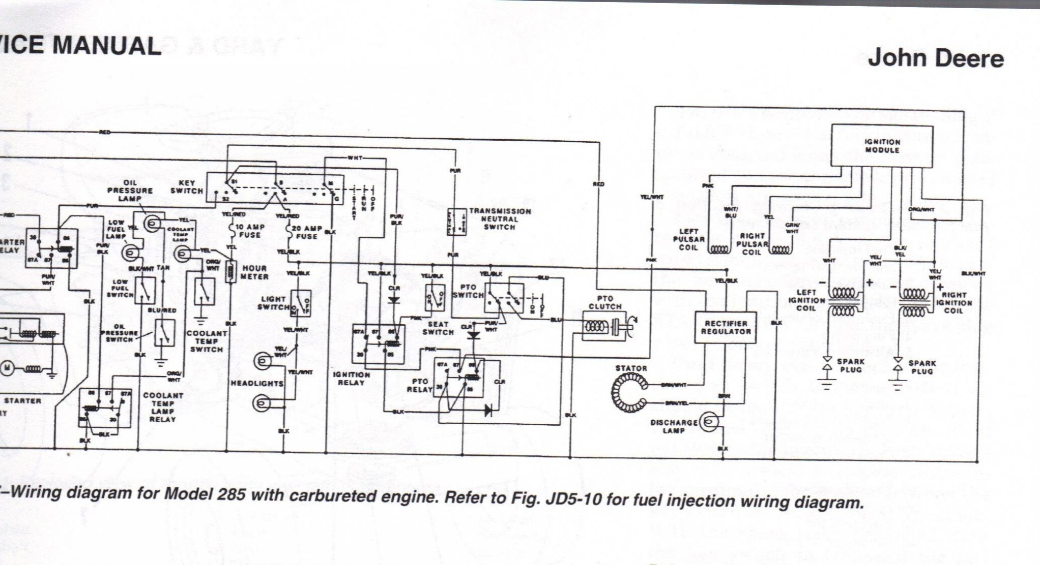 [DIAGRAM] John Deere Gator Ignition Switch Wiring Diagram