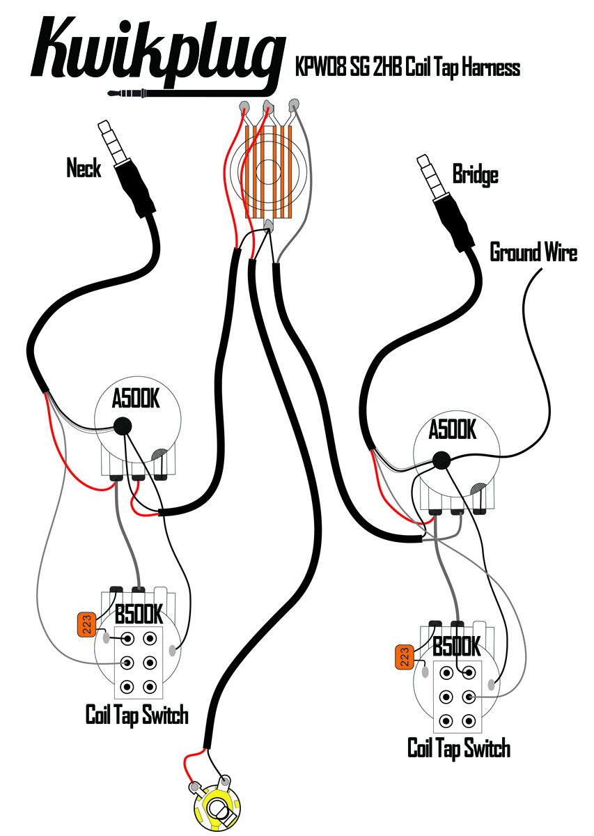 [MANUALS] Throbak Humbucker Coil Split Diagram Manual