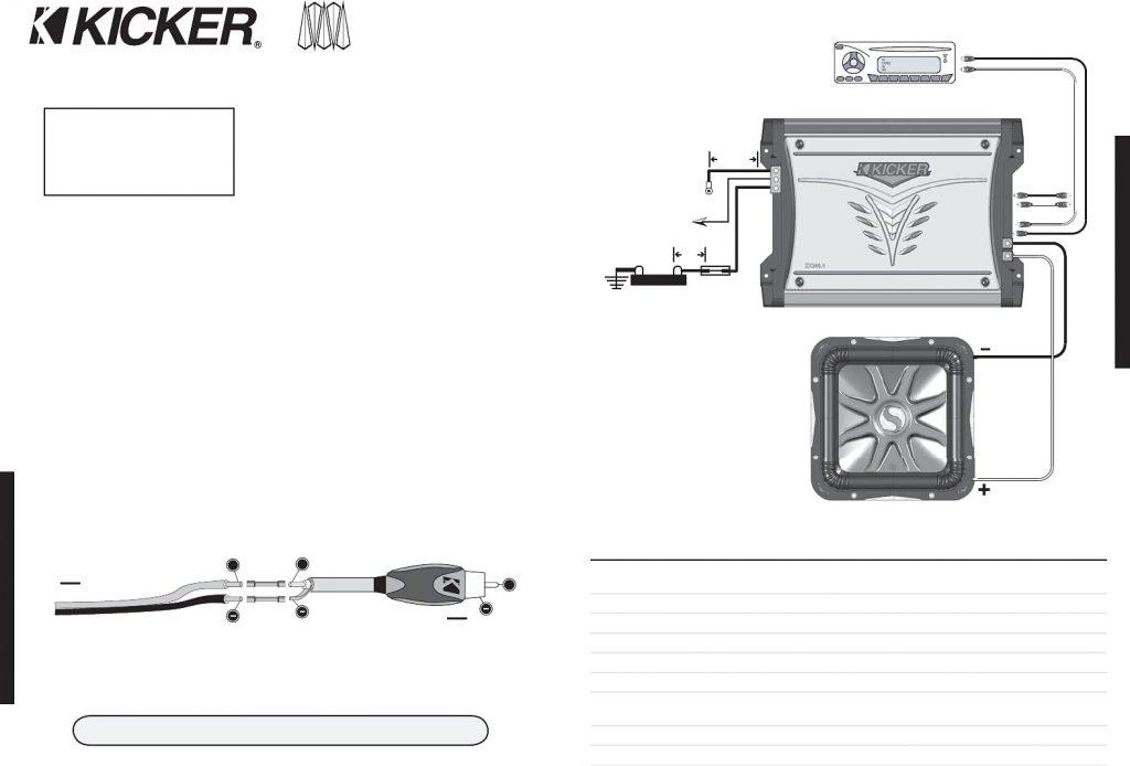 Kicker Cvr 2 Ohm.wiring Diagram : Kicker Cvr 12 Drone Fest