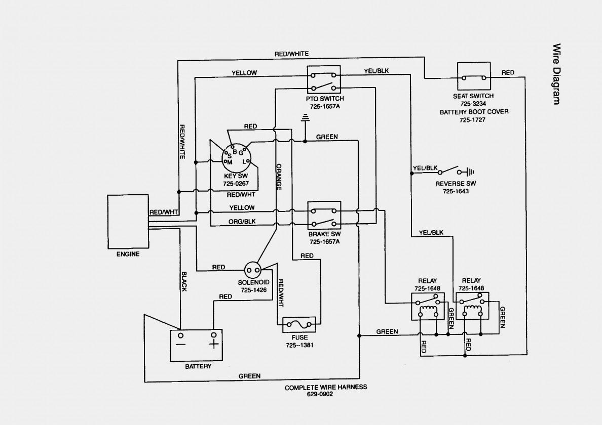 Mtd Ignition Switch Wiring Diagram