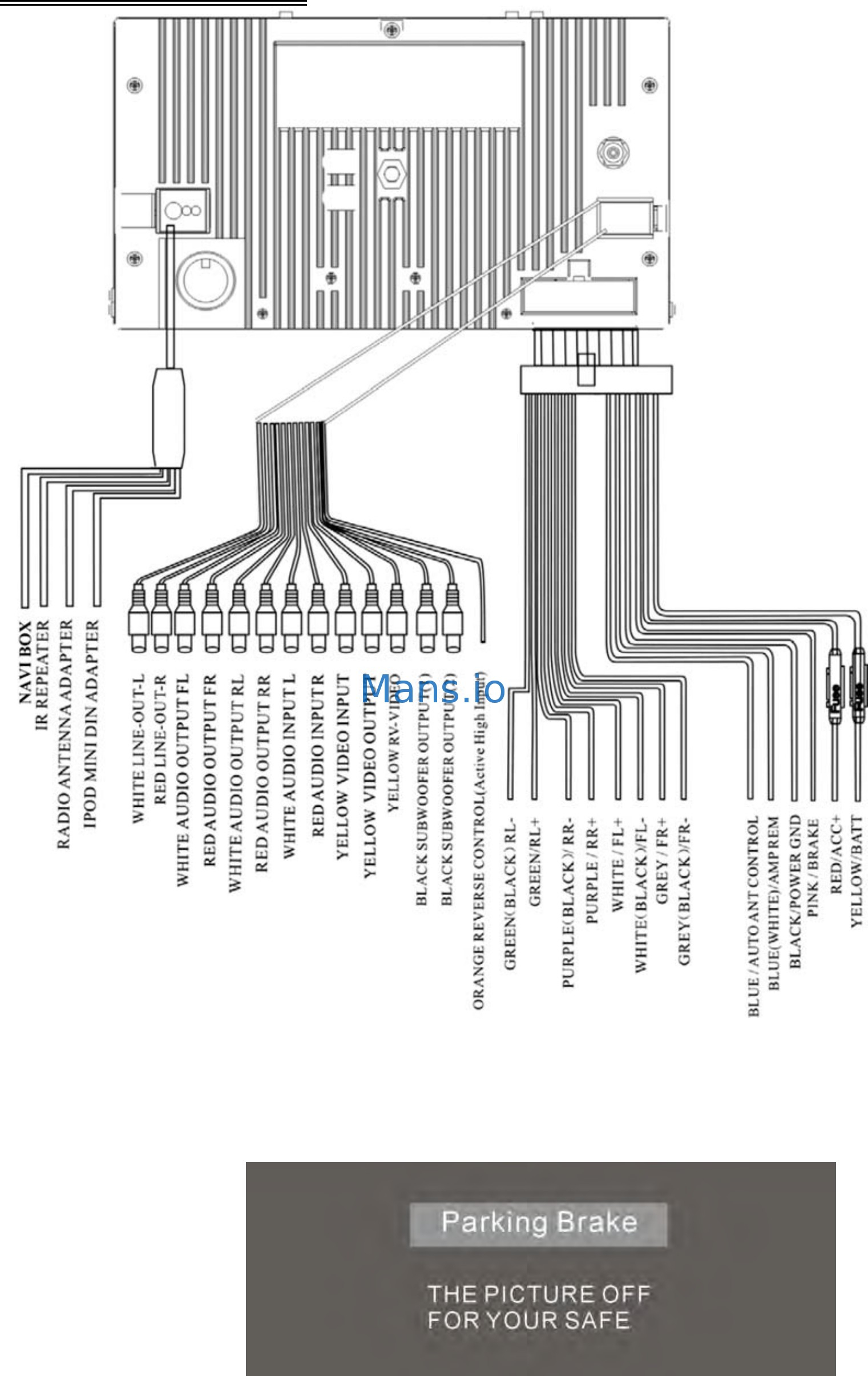 Power Acoustik Wiring Digrams Manual E Books