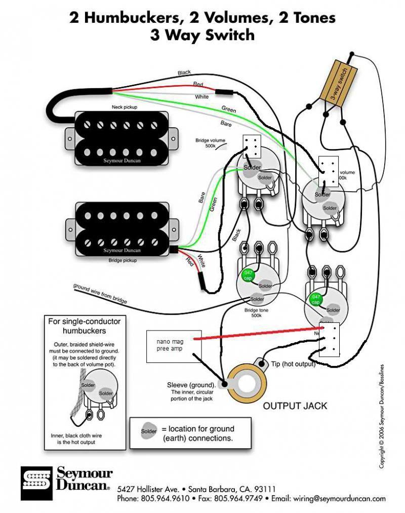 Original Gibson & Epiphone Guitar Wirirng Diagrams