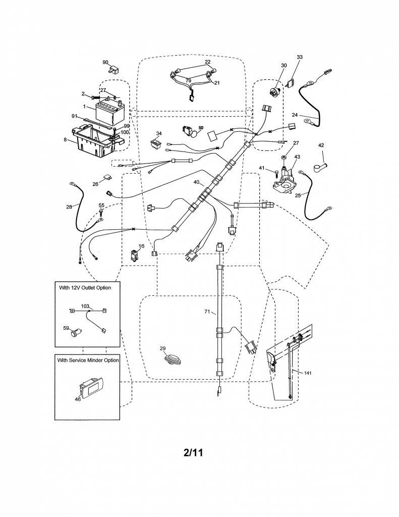Craftsman Riding Mower Wiring Diagram Collection