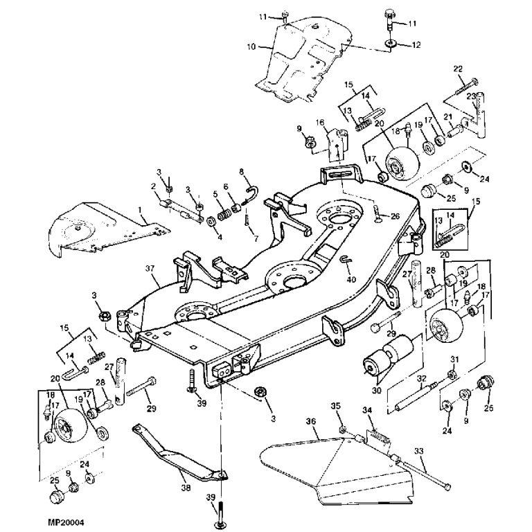Wrg-1056] 12 Volt Lawn Mower Wiring Diagram Schematic